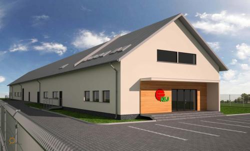Projekt hali produkcyjno-magazynowej pod Bochnią