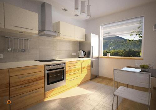 Projekt jasnej kuchni domyiarchitekci