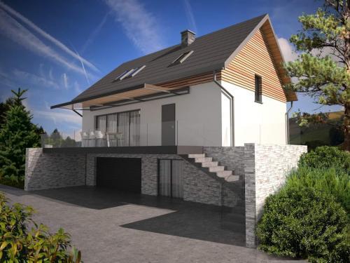 Projekt nadbudowy budynku jednorodzinnego